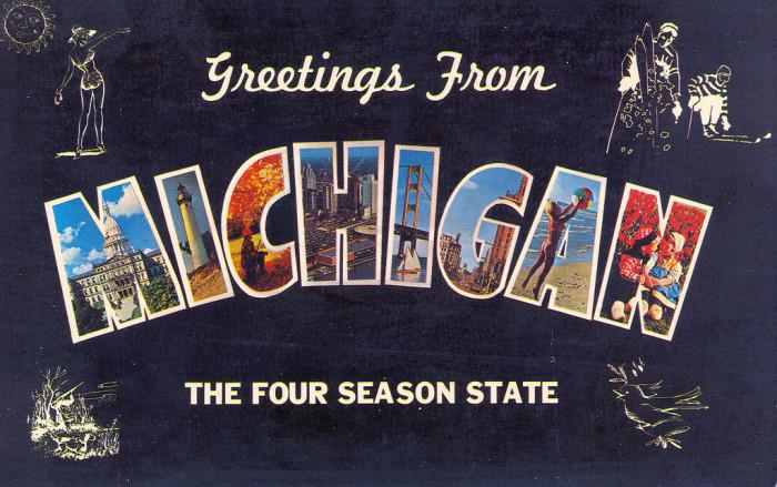 11) Michigan: The Four Season State