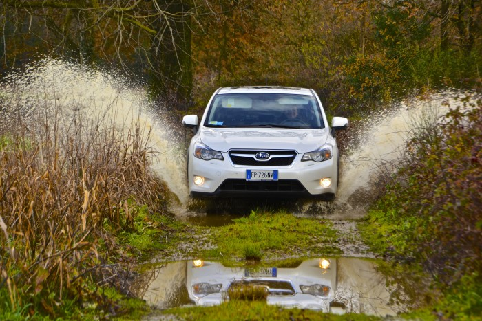 8. They're driving a Subaru no matter where they are. Chances are, there's mud and some off-roading going on as well.