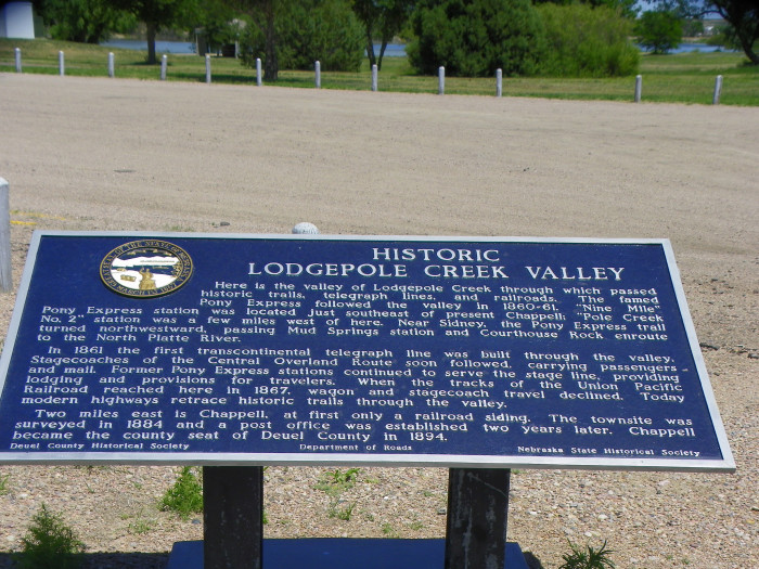 4. The treasure at Lodgepole Creek.