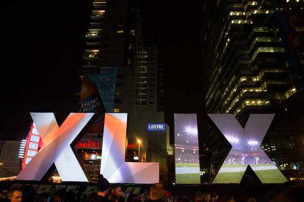 8. We hosted our third Super Bowl this year, even if it didn't host our home team.