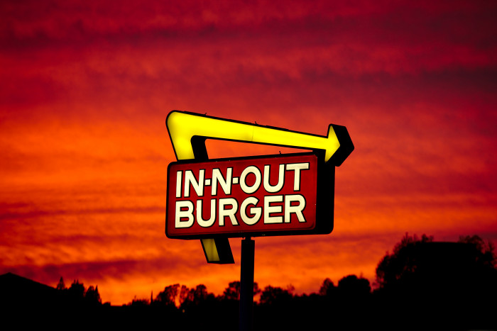 3) Just one In-N-Out Burger