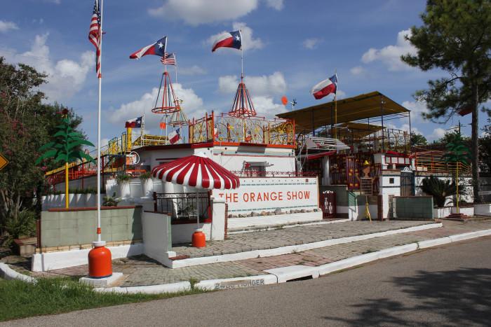 2. The Orange Show (Houston)