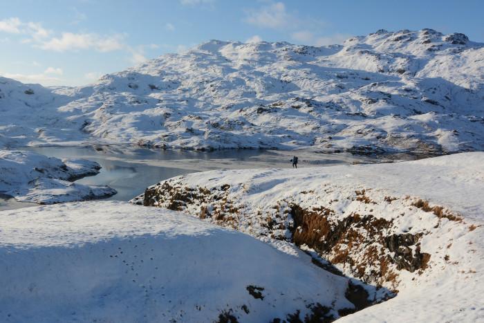 11) Long distance shot of Adak Island.