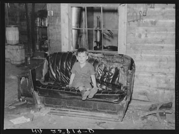 16.  Blacksmith's son. Lowell, Vermont