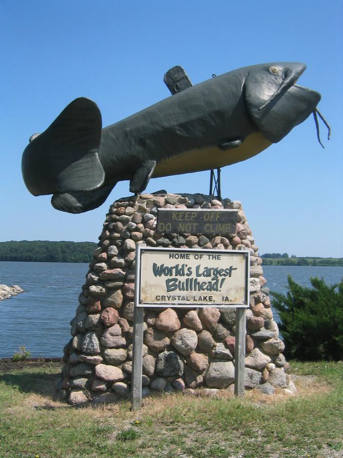 14. Crystal Lake - The World's Largest Bullhead