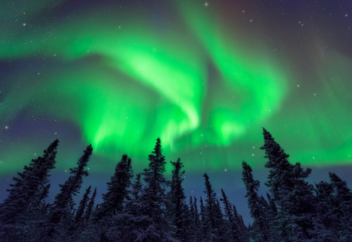11) A great shot of the Northern Lights.