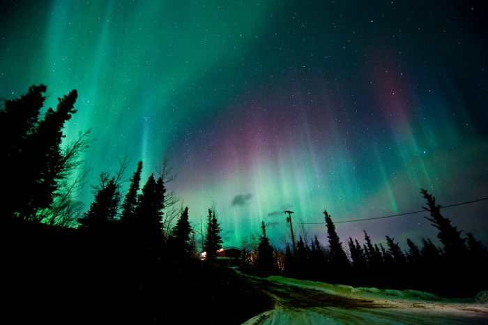 11) The Northern Lights are always impressive.