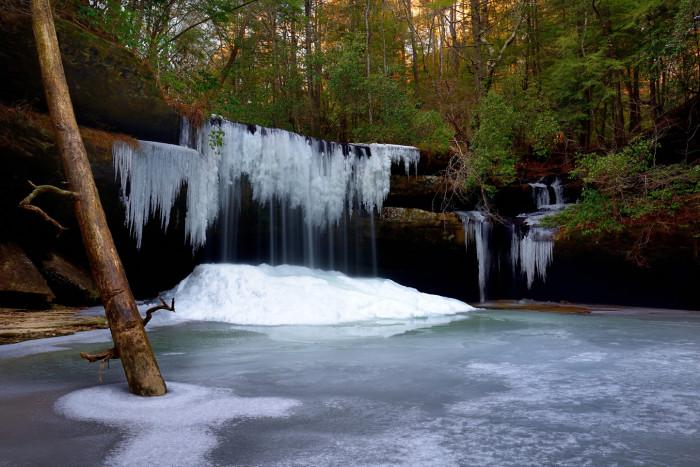 4. Caney Creek Falls