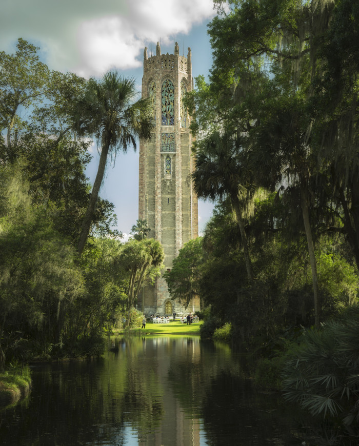7. I always knew I would recognize Rapunzel's tower if I saw it in real life. My money is on the majestic Bok Tower.