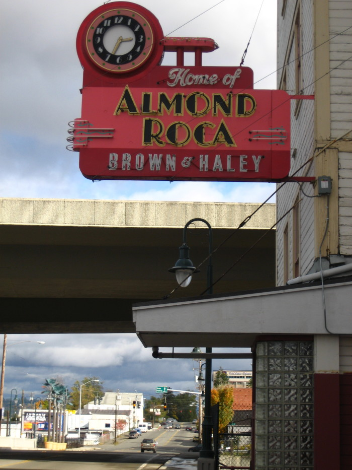 5. Speaking of Christmas candy, we're also home to Almond Roca.