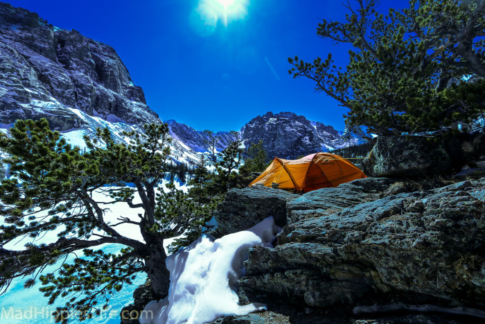 4. ...and rustic camping spots.