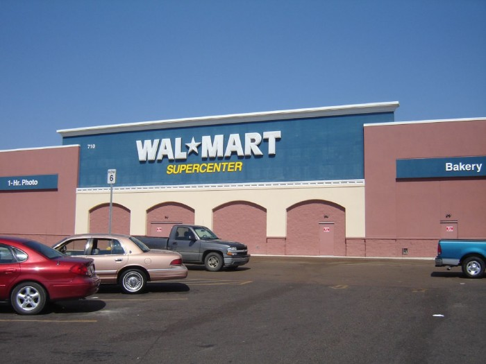 1. The frustration known as Wal-Mart.