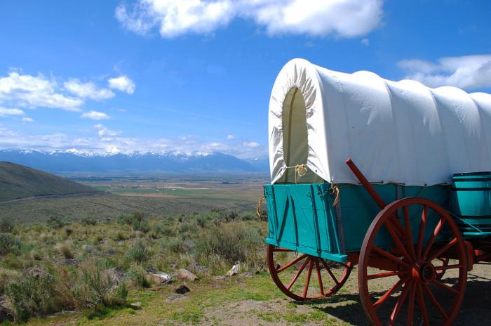 11. Utahns have that pioneer heritage.
