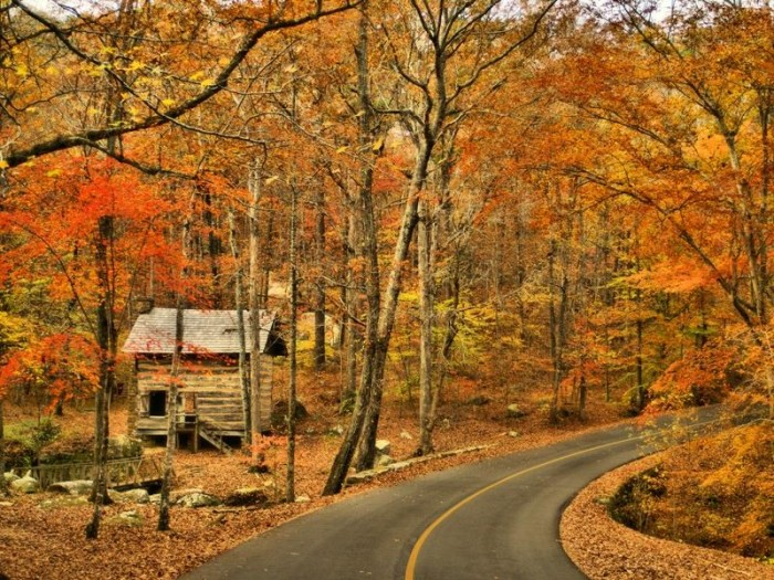 17. Adorned with the vibrant colors of fall, Tishomingo State Park looks even more picture perfect than usual.