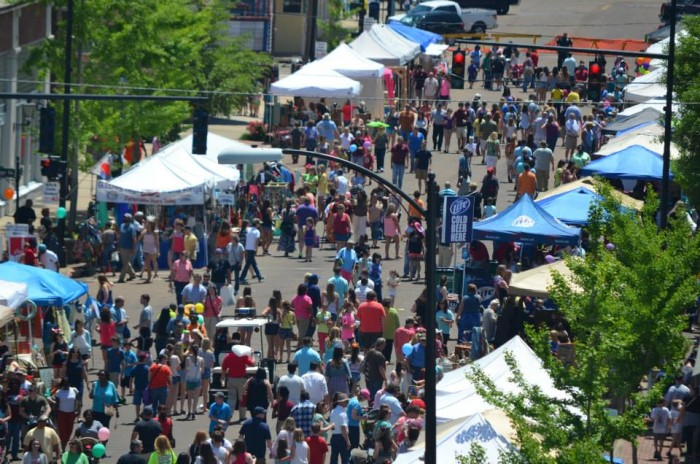 15. Spend the day at Columbus' Market Street Festival.