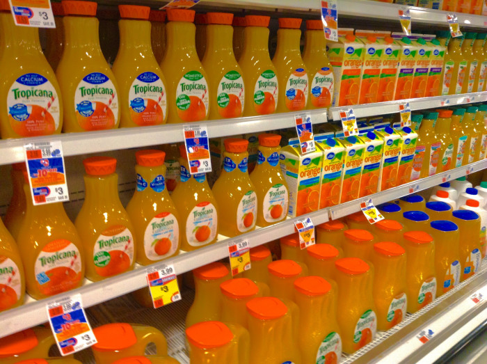 1. People will suddenly realize they only need one kind of orange juice.