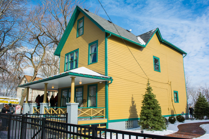 """7. WE HAVE THE """"A CHRISTMAS STORY"""" HOUSE."""