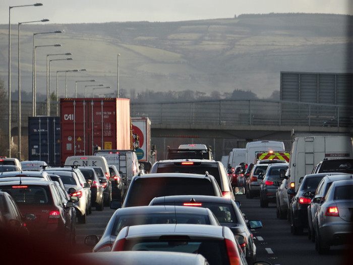 14.  Traffic jams are almost non-existent.