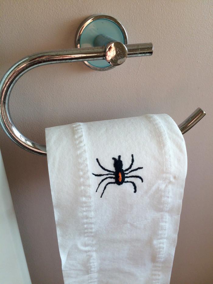 6. Toilet Spiders