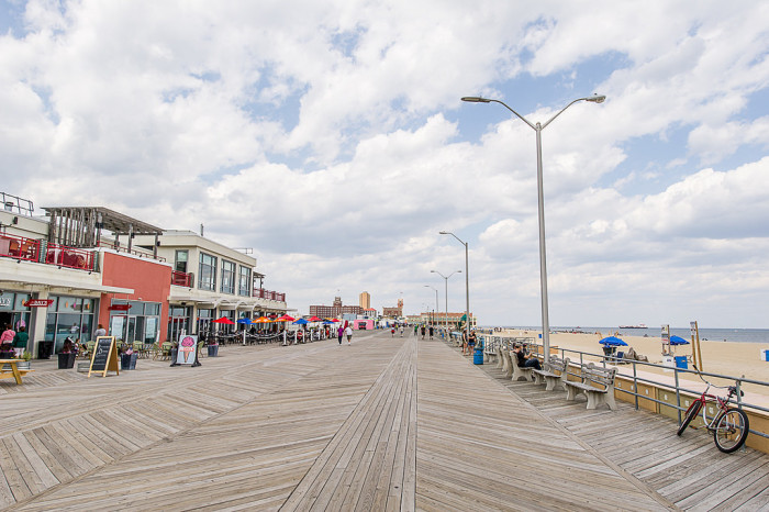 The boardwalk is eclectic and all-around amazing.