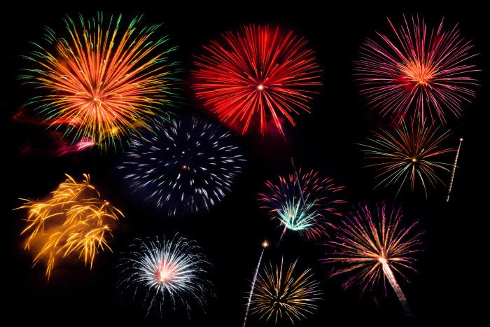 2) AT&T Fireworks Extravaganza