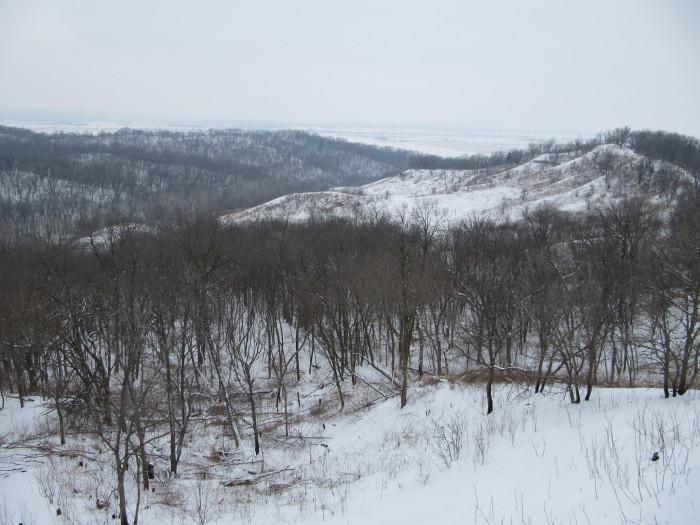 1. The Loess Hills, western Iowa