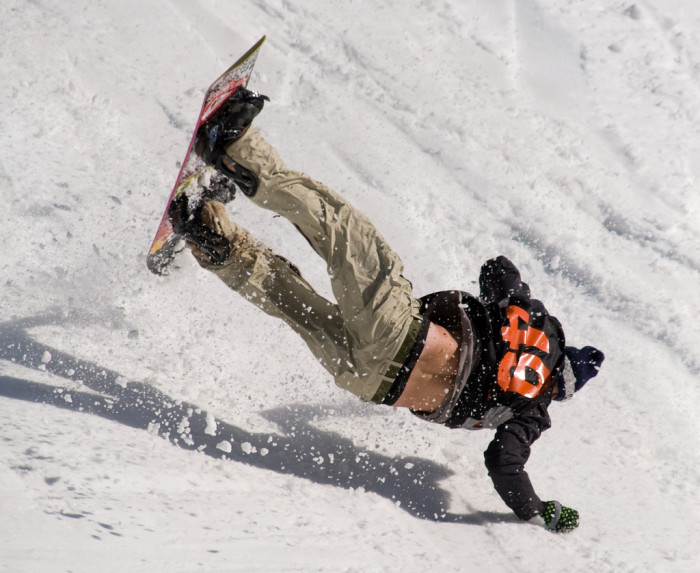 14.  We don't all know how to ski or snowboard.