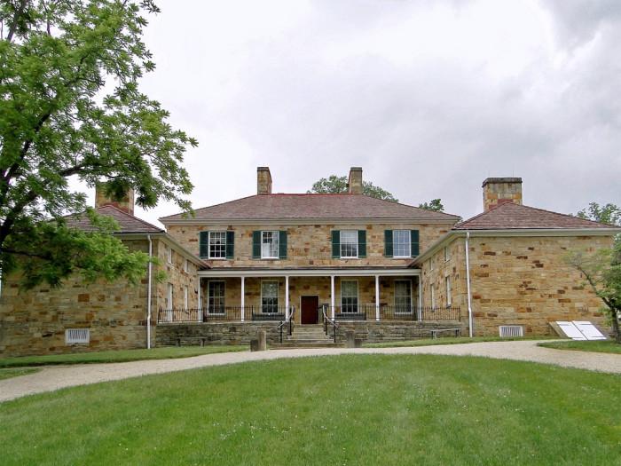 7. Tour the Adena Mansion and Gardens.