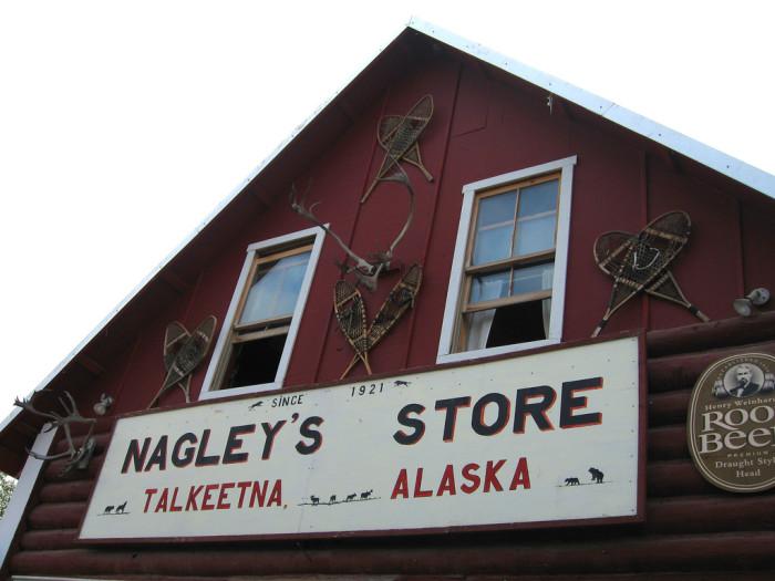 6) Nagley's Store, Talkeetna