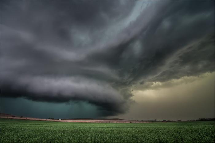 "8. ""One Last Hurrah of a Dying Supercell."""