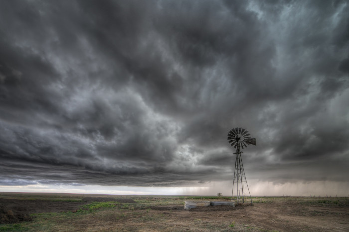 "5. ""Storm over the High Plains."""