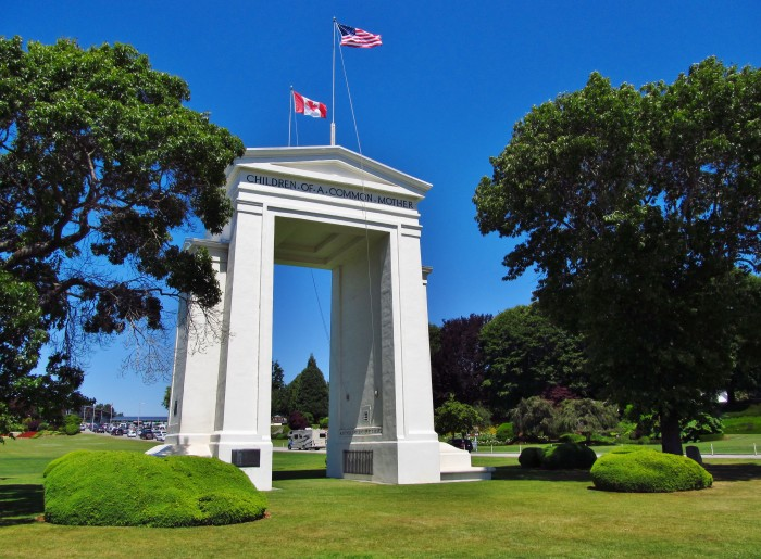 3. Peace Arch State Park