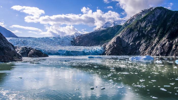 1) Sawyer Glacier, Tracy Arm Fjord Glacier