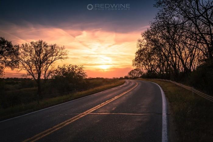 1. Joshua Redwine captured this warm Nebraska sunset around Raymond.
