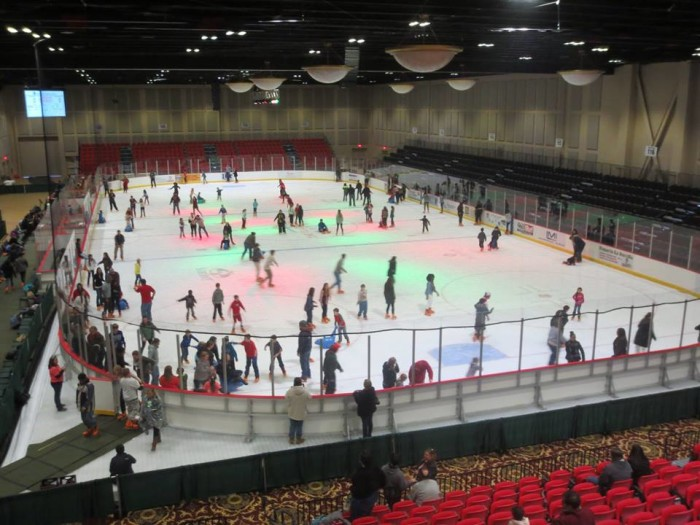 1. Go Ice Skating at the Classic Center - Dates : 11/16/15 - 2/28/16 The Classic Center 300 North Thomas Street Athens, GA 30601