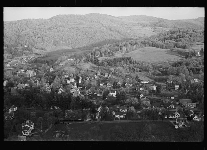 19.  Woodstock, Vermont.