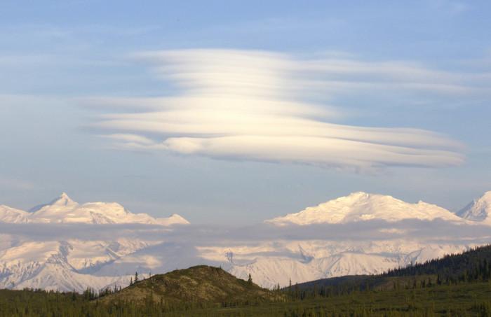 13) The Alaska Range.