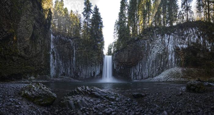 8. Abiqua Creek Falls