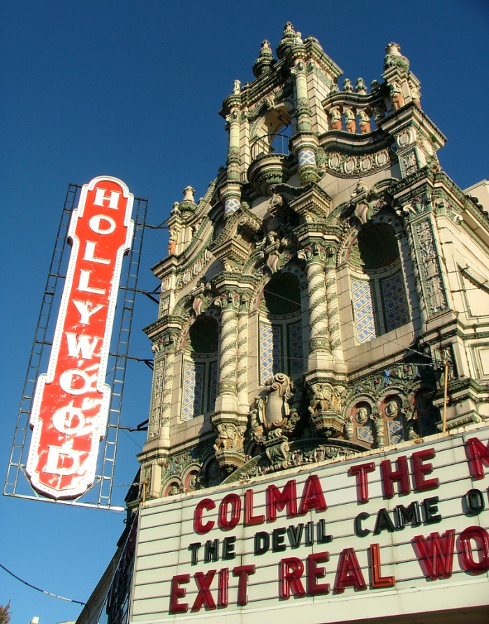 9. See a movie at the historic Hollywood Theatre.