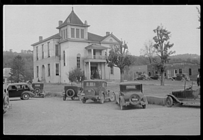 2) The Maynardville Courthouse