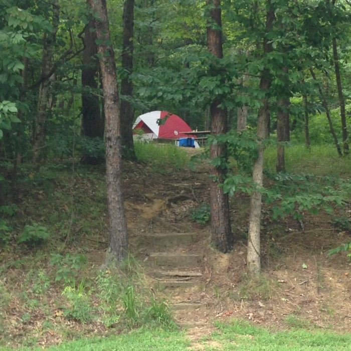 3. Plan a camping trip to Oak Mountain State Park.
