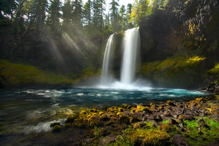 8. Oregon has more waterfalls than any other state in the country, Hawaii and Alaska included.