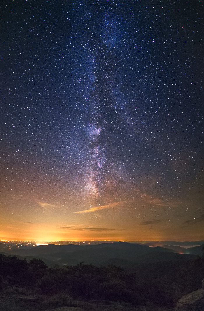 2. Milky Way on the Appalachian Trail