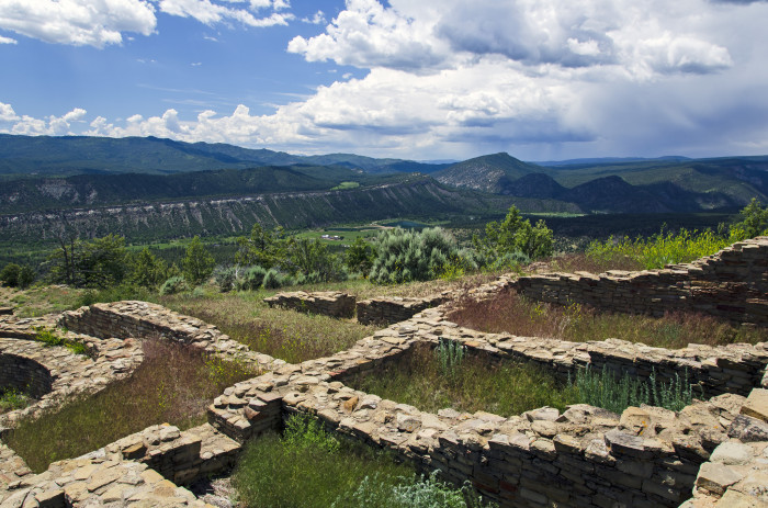 "15. ""Archaeological Ruins in Colorado."""