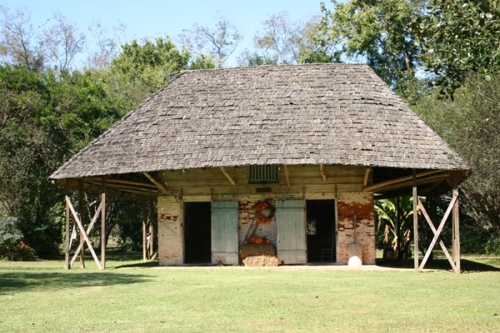 6. 'Africa' house in Natchitoches area.