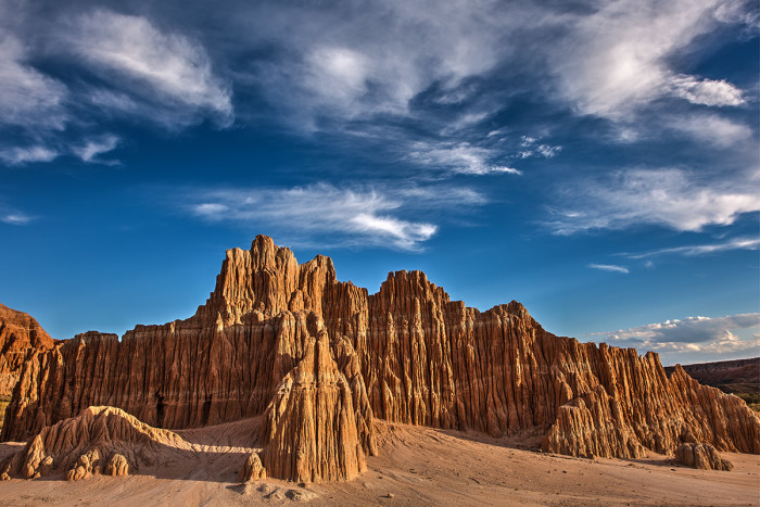10. Cathedral Gorge State Park - Panaca