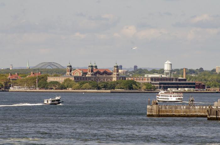 12. Where is Ellis Island?