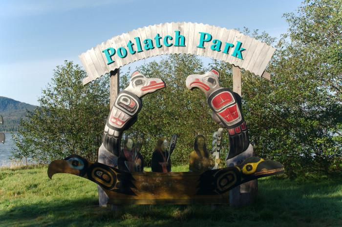 6) Totem Poles at Potlatch Park