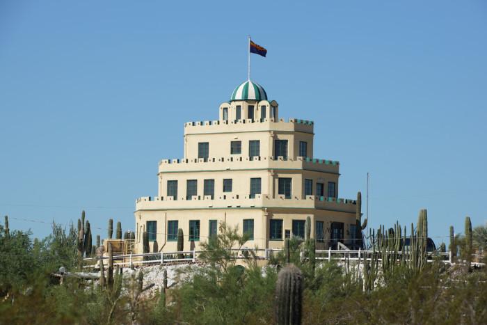 6. Tovrea Castle, Phoenix
