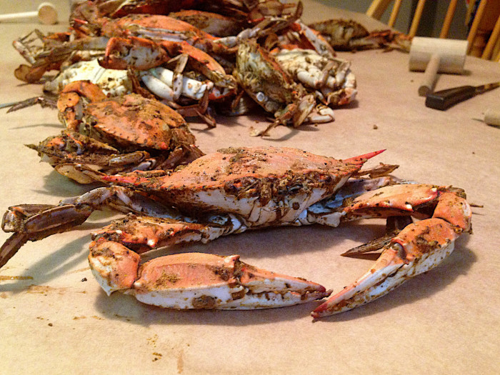 20) Have a crab feast.